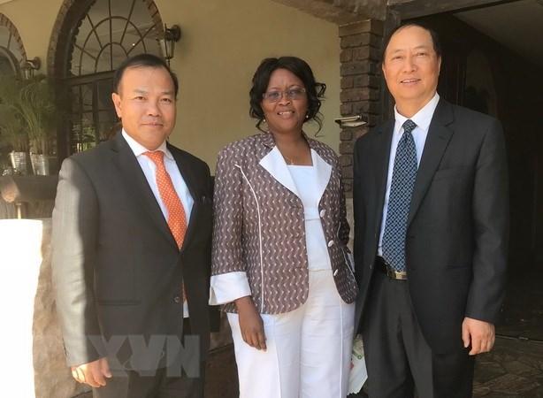 Le Botswana souhaite cooperer avec le Vietnam dans l'agriculture et les soins de sante hinh anh 1