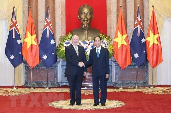 L'Australie souhaite approfondir le partenariat strategique avec le Vietnam hinh anh 1