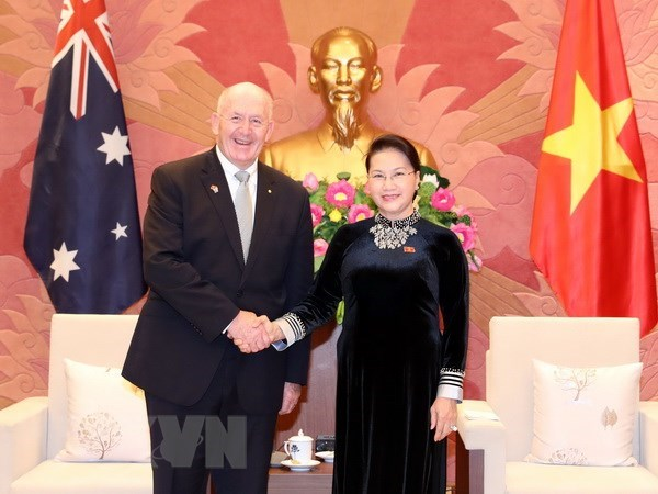 La presidente de l'AN rencontre le gouverneur general d'Australie hinh anh 1