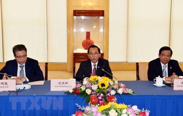Hanoi et Shanghai promeuvent leur cooperation hinh anh 1