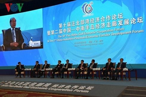 Le Vietnam au 10e Forum de cooperation economique du golfe du Bac Bo elargi hinh anh 1