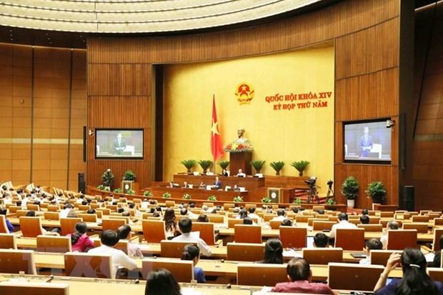 Les deputes discutent des plans socio-economique et budgetaire hinh anh 1