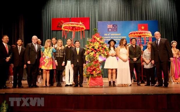 Les 45 ans des liens Vietnam-Australie celebres a Ho Chi Minh-Ville hinh anh 1