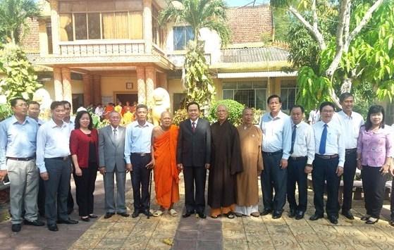Des dirigeants formulent leurs voeux pour le 2562e anniversaire de Bouddha hinh anh 3