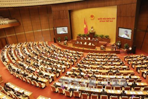 L'Assemblee nationale de la 14e legislature poursuit sa 5e session hinh anh 1