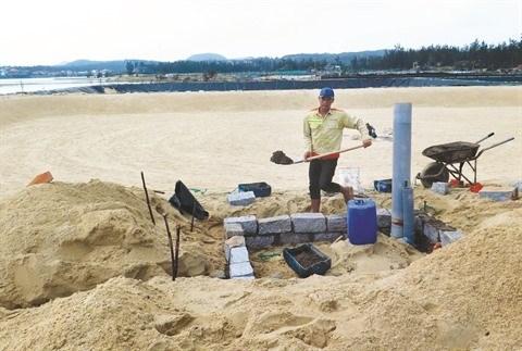 Le Centre aux avant-postes du combat contre l'erosion du littoral hinh anh 1