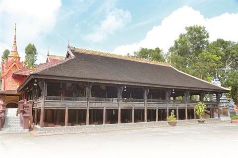 Retour sur l'histoire centenaire du sala de la pagode Chot au Sud hinh anh 1