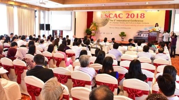La 5e conference internationale sur la langue, la societe et la culture a Hue hinh anh 1