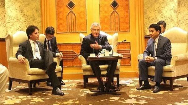 Hanoi prend en haute consideration sa cooperation avec les entreprises europeennes hinh anh 1