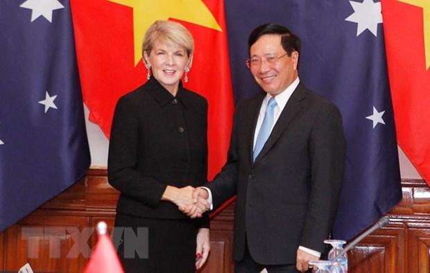 Reunion des ministres des Affaires etrangeres Vietnam-Australie hinh anh 1