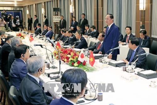 Le Vietnam s'engage a creer les conditions optimales aux groupes economiques du Japon hinh anh 1