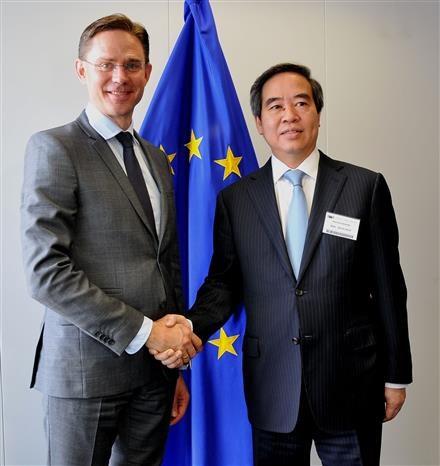 Le Vietnam privilegie la cooperation economique avec la Belgique et l'UE hinh anh 2