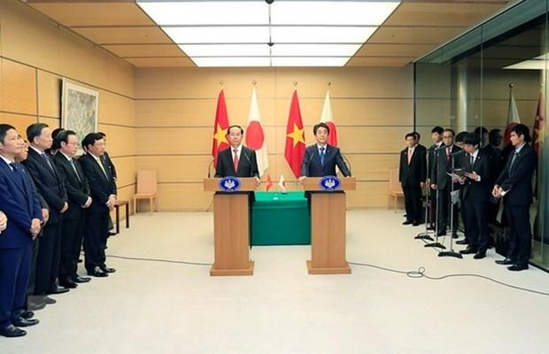 Le Japon va soutenir plus le developpement durable du Vietnam hinh anh 1