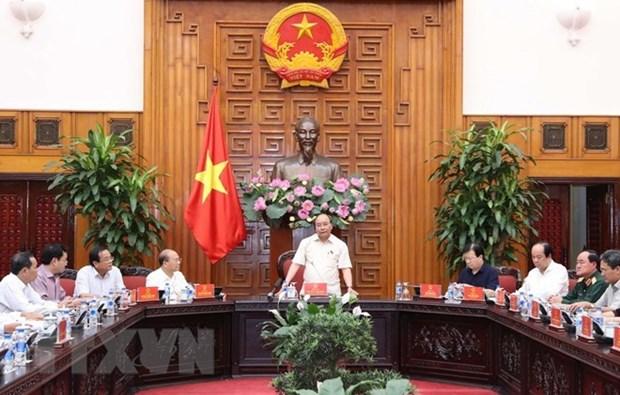 Le PM demande a Binh Thuan de developper l'industrie et l'agriculture hinh anh 1