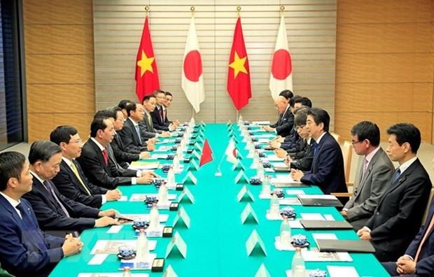 Le Vietnam et le Japon unis pour booster leur partenariat strategique elargi hinh anh 2
