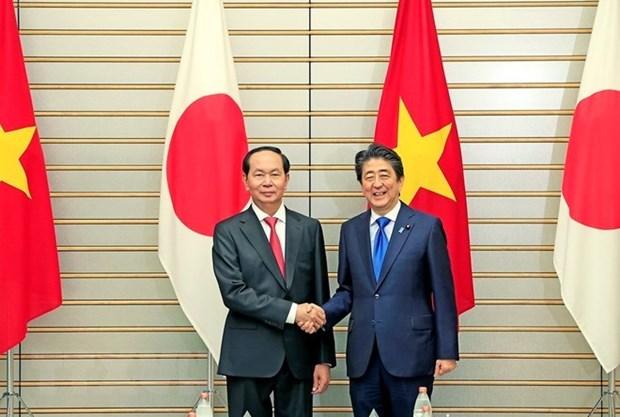 Le Vietnam et le Japon unis pour booster leur partenariat strategique elargi hinh anh 1