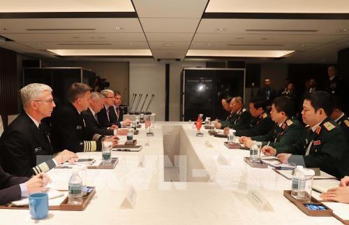 Defense : rencontre Vietnam - Etats-Unis a Singapour hinh anh 1
