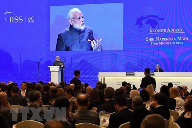 Shangri-La 2018 : l'Inde appelle a resoudre les differends selon le droit international hinh anh 1
