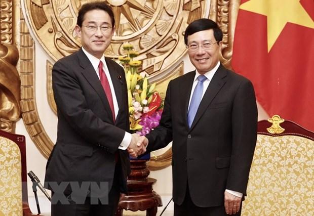 Developpement des liens vietnamo-japonais hinh anh 1