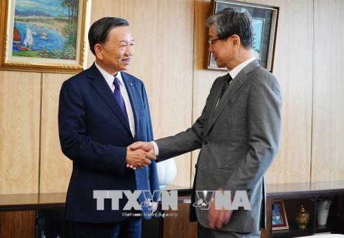 Vietnam et Japon cooperent dans la securite publique hinh anh 1