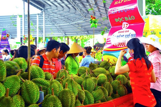 Atmosphere joyeusement animee du Festival des fruits du Nam Bo 2018 hinh anh 1