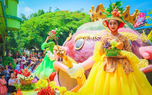 Atmosphere joyeusement animee du Festival des fruits du Nam Bo 2018 hinh anh 2