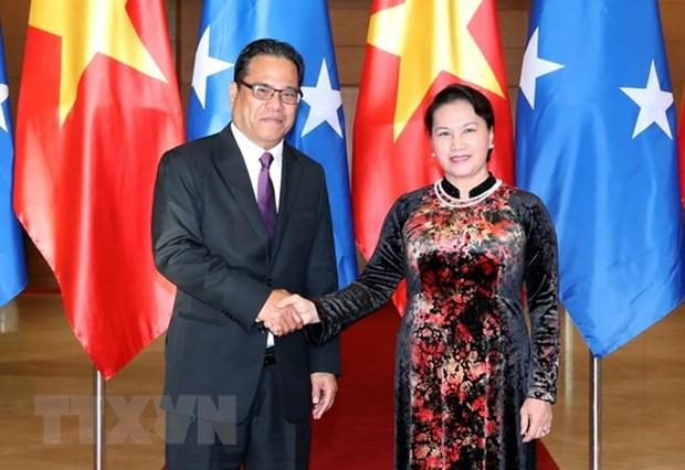 Renforcement des liens avec les Etats federes de Micronesie hinh anh 1