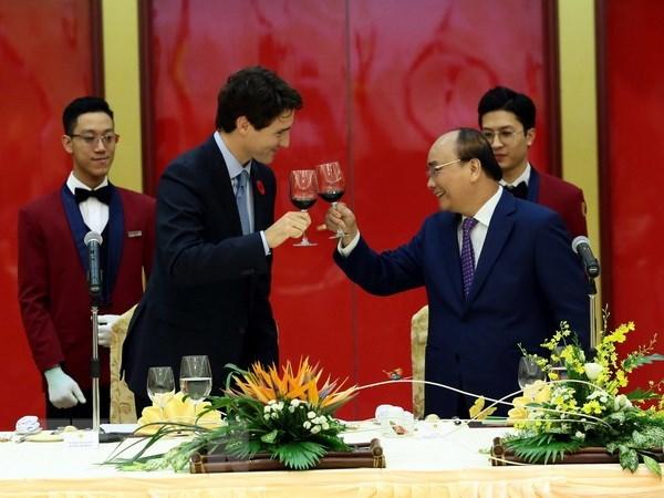 Promotion des relations de partenariat integral Vietnam-Canada hinh anh 1