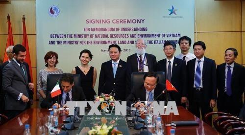 Cooperation Vietnam-Italie dans le changement climatique hinh anh 1