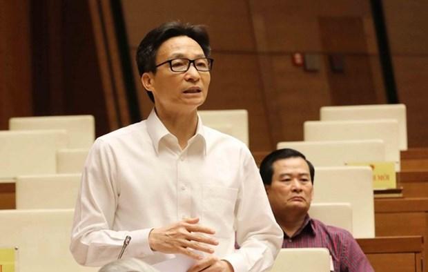 Education : le vice-PM Vu Duc Dam parle devant les deputes hinh anh 1