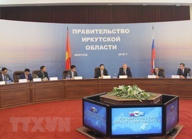 Quang Ninh renforce sa cooperation avec la province russe d'Irkoutsk hinh anh 1