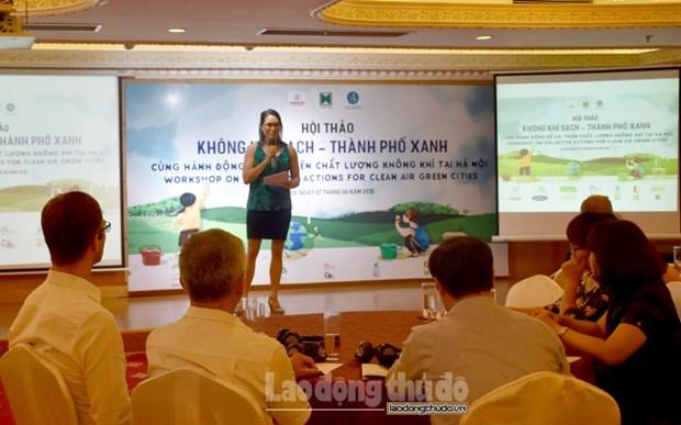 Pour ameliorer la qualite de l'air de Hanoi hinh anh 1