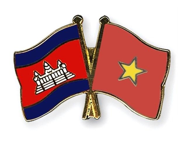 Renforcement de l'amitie Vietnam-Cambodge dans les zones frontalieres hinh anh 1