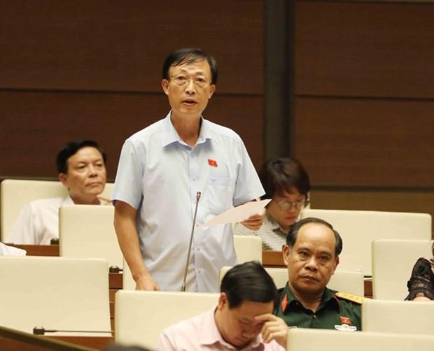 Jeudi: l'Assemblee nationale discute de l'elaboration des lois hinh anh 1