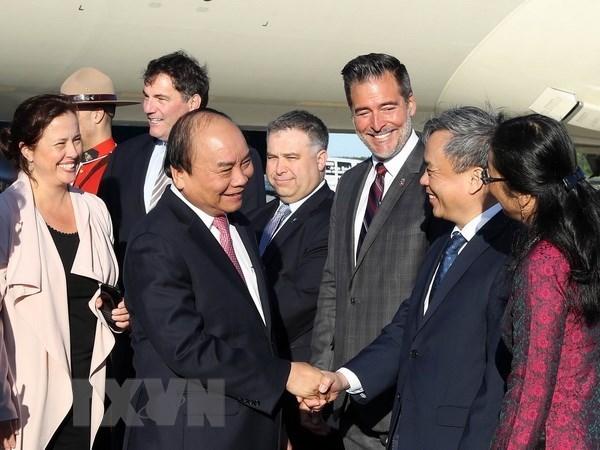 Le PM Nguyen Xuan Phuc visite l'Universite Laval, au Quebec hinh anh 1