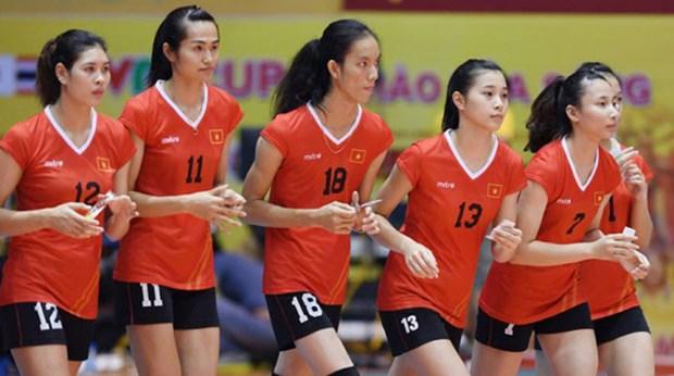 Inauguration du tournoi de volley-ball feminin U19 d'Asie hinh anh 1