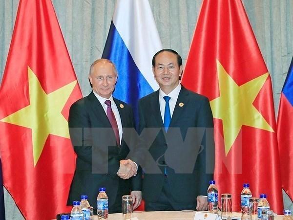 Le Vietnam felicite la Russie pour sa fete nationale hinh anh 1