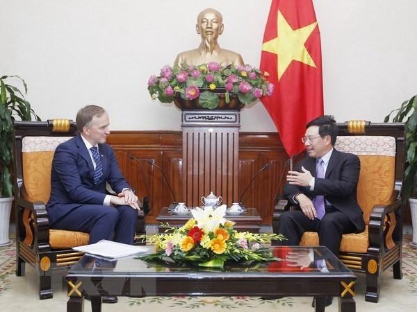 Le Vietnam renforce ses liens d'amitie traditionnelle avec la Lettonie hinh anh 1
