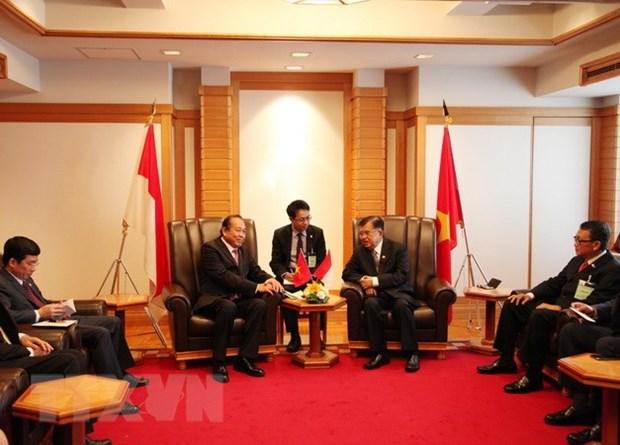 Le vice-PM Truong Hoa Binh a un calendrier charge au Japon hinh anh 2