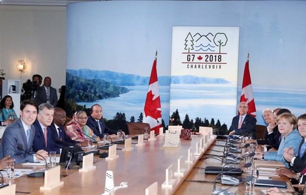 Les pays du G7 et du G7 elargi prisent leurs liens avec le Vietnam hinh anh 1