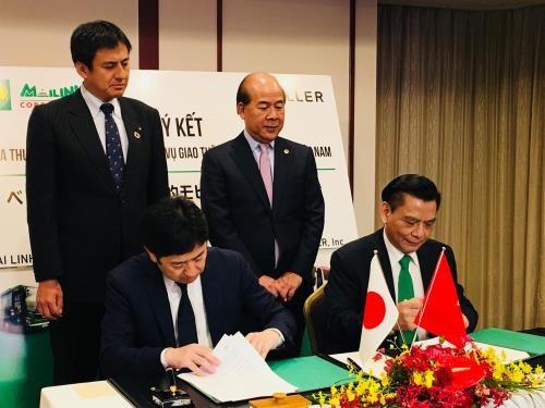 Transports : cooperation entre deux groupes vietnamien et japonais hinh anh 1