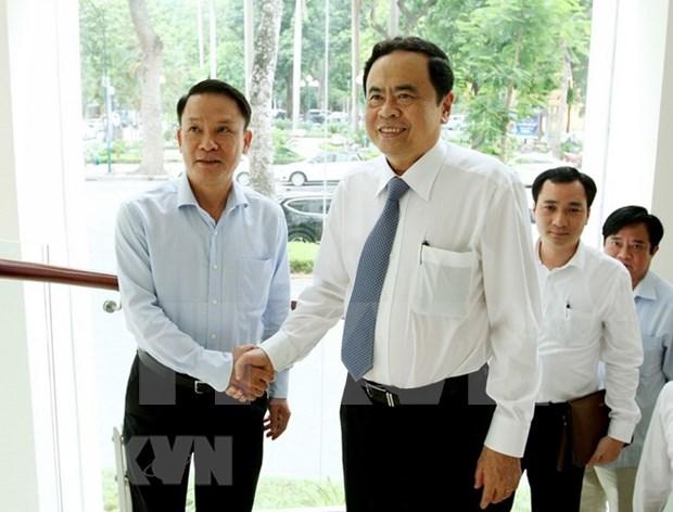 Le president du CC du FPV salue la VNA en tant qu'agence d'information strategique hinh anh 1