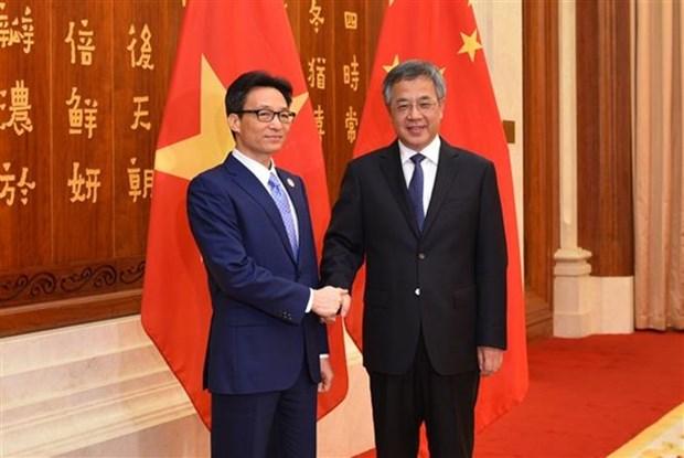 Le vice-PM Vu Duc Dam assiste au 5e Salon Chine-Asie du Sud hinh anh 2