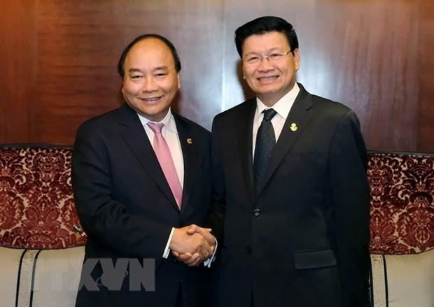 Le Vietnam privilegie le renforcement des relations avec le Laos hinh anh 1