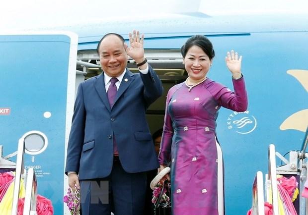 Le PM termine son voyage en Thailande pour des evenements regionaux hinh anh 1