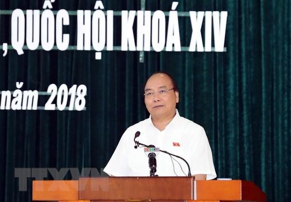 Le PM Nguyen Xuan Phuc demande de maintenir l'ordre et la paix sociaux hinh anh 1