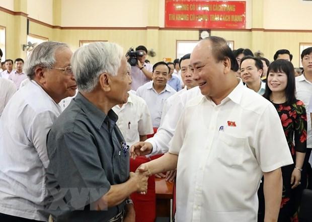 Le PM Nguyen Xuan Phuc demande de maintenir l'ordre et la paix sociaux hinh anh 2