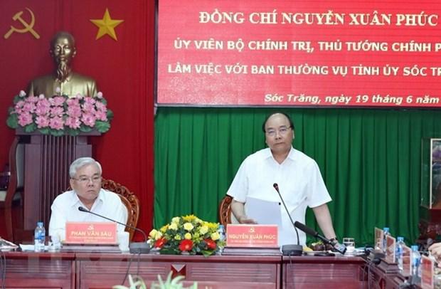 Soc Trang doit prendre des mesures pour atteindre ses objectifs de croissance hinh anh 1
