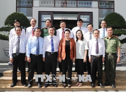 La presidente de l'AN se rend dans la province de Bac Lieu hinh anh 1