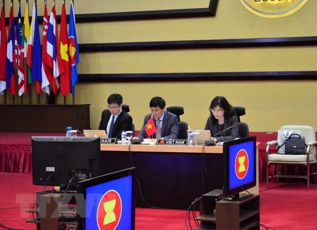 Le Vietnam copreside la 18e reunion du Comite mixte de cooperation ASEAN-Inde hinh anh 1